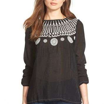 Women's Plenty by Tracy Reese Embroidered Blouse,