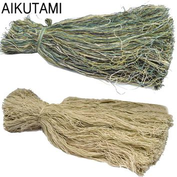Thread Burlap Yarns Hunting Clothing Accessories Camo Jungle Military Camouflage Ghillie Clothing Field Sniper Airsoft Special