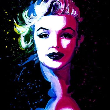 Marilyn Monroe, Wall Art Print, canvas print, prints, digital prints, wall art, home décor, wall décor, giclee, canvas art, gift,