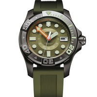 Victorinox Swiss Army Dive Master 500 Green Dial Mens Watch 241560