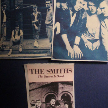 The Smiths stickers - 3 piece set - 2.25 x 3.25 inches