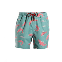 Mazu Swimwear Trunks Pearl River Aqua