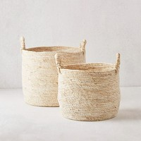 Lydia Woven Basket | Urban Outfitters