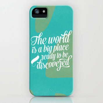 A big world iPhone & iPod Case by Allyson Johnson