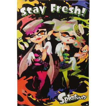 Splatoon Domestic Poster