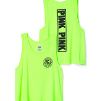 Crop Muscle Tank - PINK - Victoria's Secret