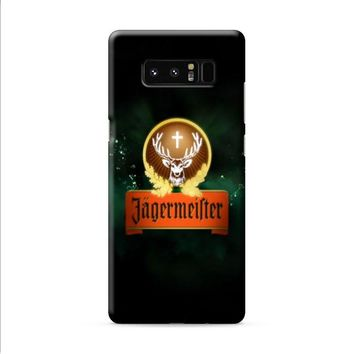 Jagermeister Alcohol Samsung Galaxy Note 8 case
