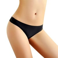 Best seller Women sexy panties  Invisible Underwear Thong Cotton Spandex Gas Seamless Crotch Underwear Lingerie S/M/L