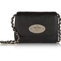 Mulberry - Lily mini textured-leather shoulder bag