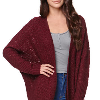 LA Hearts Oversized Textured Cardigan at PacSun.com