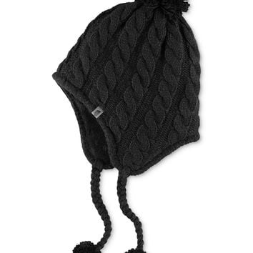 The North Face Cable-Knit Earflap Beanie