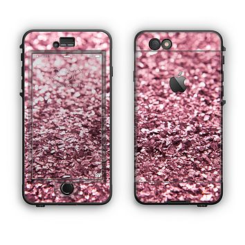 The Subtle Pink Glimmer Apple iPhone 6 Plus LifeProof Nuud Case Skin Set