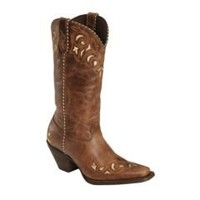 Sheplers: Durango Sassy Whipstitch Cowgirl Boots - Square Toe