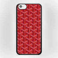 Goyard Red iPhone 5/5s Or 5c Case