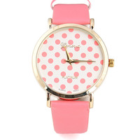 Dotted Clubhouse Watch | Cute Watches at Pink Ice