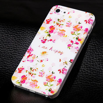 I am happy phone case for iphone 5 5s SE  + Nice gift box 072702