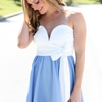 Dollhouse Dress - Sky Blue