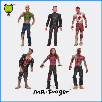 Mr.Froger Zombie Action Figure The Walking Dead Rigor Mortis dangerous terror corpse Models Dolls TV Game Related Products Toys