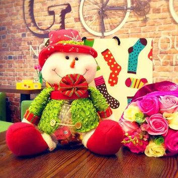 Sweets Christmas Dolls Big Size Gifts Candy Pot [9199620484]