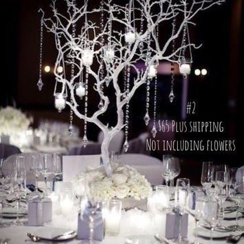 Custom Manzanita Tree Wedding Centerpiece Kit