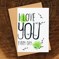 Cards for every day- love cards- Friendship Card - I love you card- lovely cards- cute cards- friends card- postcards- cards-