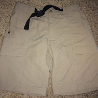 Sale!! Vintage The North Face cargo shorts skateboard hiking outdoor swim trunks
