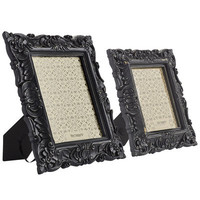 Baroque Desk Frames - Black