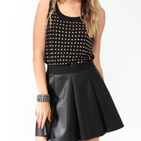 Studded Front Tank