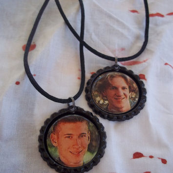 Eric Harris And Dylan Klebold Necklace set of 2