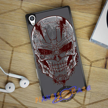 Tenth Doctor With Gallifreyan Sony Xperia Z5 case Planetscase.com