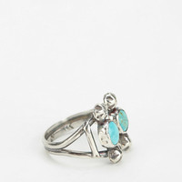 Rejoice The Hands Turquoise Cuff Ring