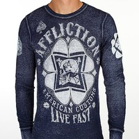 Affliction Cloverfield Thermal Shirt