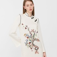 Oriental print dress - Woman | MANGO United Kingdom
