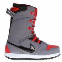 Nike Vapen Snowboard Boots Charcoal/Black-Challenge Red-White 2013 - Mens
