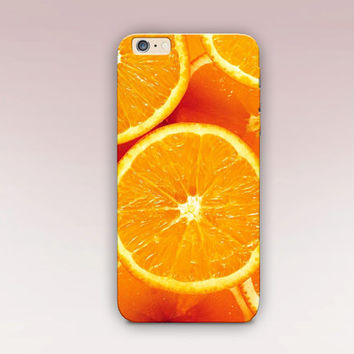 Orange Fruit Phone Case For - iPhone 6 Case - iPhone 5 Case - iPhone 4 Case - Samsung S4 Case - iPhone 5C -  Matte Case - Tough Case