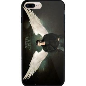 Best Supernatural Movie Dean Angel For iPhone 6 6s 7 8 X Plus Hard Plastic Case