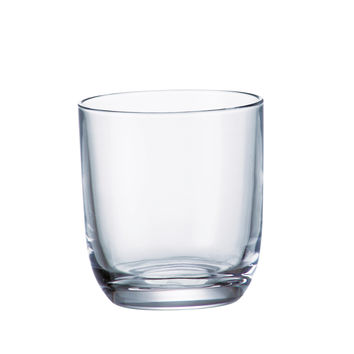 Majestic Gifts 97534-S6 Crystalline Glass Double Old Fashioned Tumbler 9.5 oz. Set of 6
