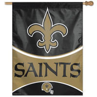 New Orleans Saints NFL Vertical Flag (27x37)