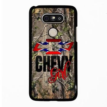 CAMO BROWNING REBEL CHEVY GIRL LG G5 Case Cover