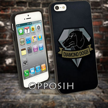 Diamond Dogs Logo Mgs 5 cover case for iPhone 4 4S 5 5C 5 5S 6 Plus Samsung Galaxy s3 s4 s5 Note 3 by opposih