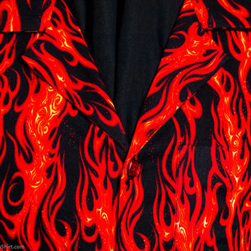 On Fire limited-edition ultra-high quality women's shirt or dress