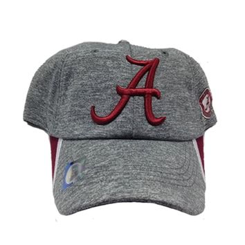 Alabama Crimson Tide Heather Grey Cap | BAMA Heather Gray Cap | Alabama Crimson Tide Adjustable Cap