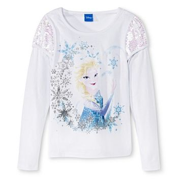 Disney Frozen Girls' Graphic Tee