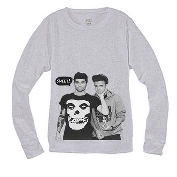One Direction Crew Neck Sweatshirt Sweater Harry Styles Zayn Malik Niall Horan Louis Tomlinson Liam Payne 1D #4
