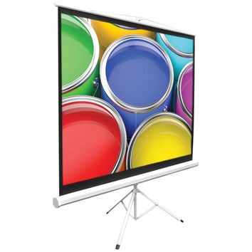 """Pyle Home Floor-standing Portable Tripod Manual Projector Screen (72"""")"""