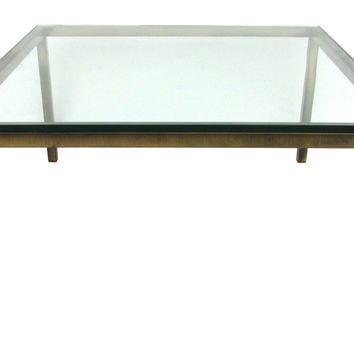 Steelcase  Bronze-Finish Coffee Table