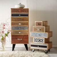 Bonsoni Daisy 7 Drawer Chest of Drawers