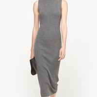 Theory Ulana Dress in Grey Melange