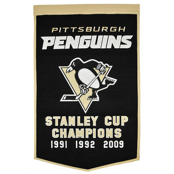 Pittsburgh Penguins NHL Dynasty Banner (24x36)