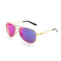 Oakley Caveat Sunglasses - Gold/Red